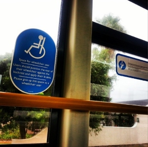 MyCiti disabled bus trip | darylhb on Instagram