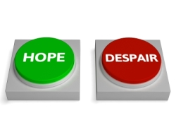 Hope and Despair buttons