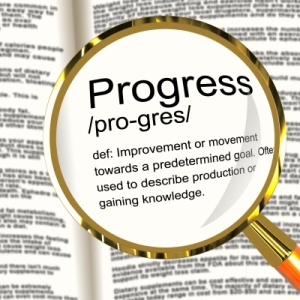 Progress Definition Magnifier