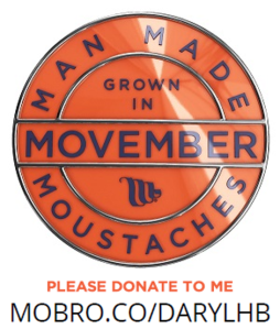 Donate to promote men's health | Movember