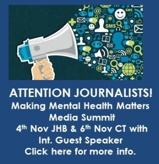 Making mental health matter media summit | SADAG