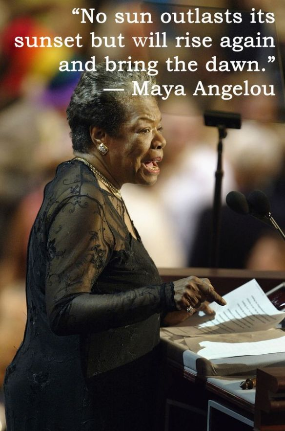 Maya Angelou quotes on Buzzfeed