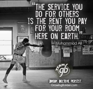 Mohammed Ali quote