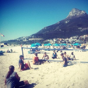 ParaVolley on Camps Bay Beach