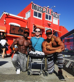 Disability on Muscle Beach